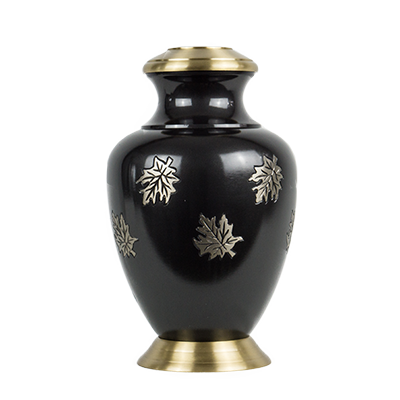 Dark blue prestige urn