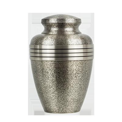 Steel aura urn