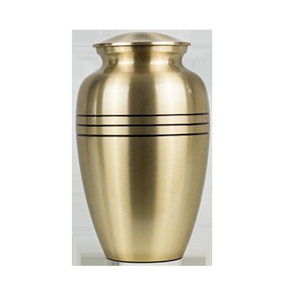Classic gold urn
