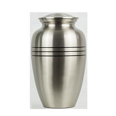 Classic silver urn
