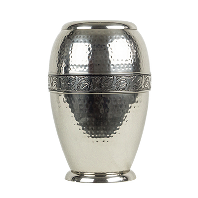 Stainless steel dignity urn