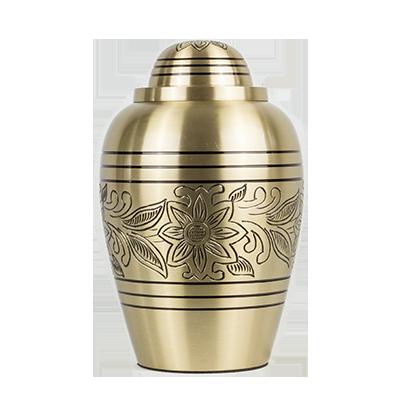 Bronze elegant urn
