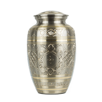 Brass eternal urn