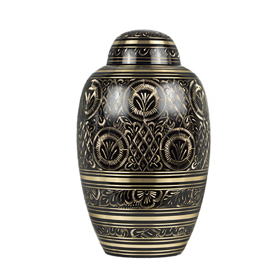 Engraved imperial urn