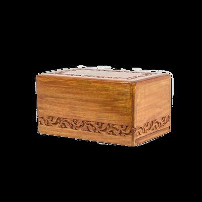Dynasty wooden urn